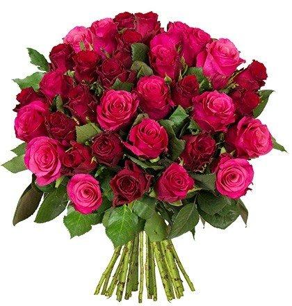 """41 Rosen im Strauß """"RomanticRoses"""" für 24,98€"""
