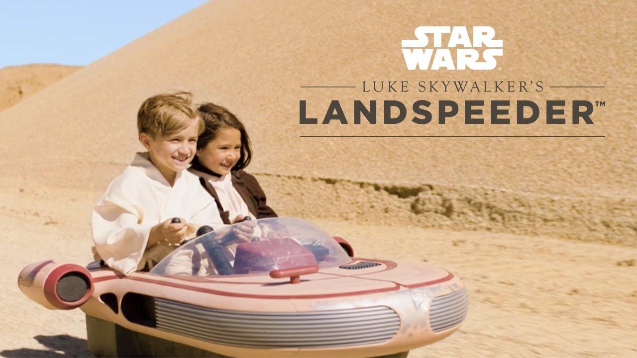 Luke Skywalkers Landspeeder (12V) für 480 anstatt 599 Euro im Star Wars Sale (-20%) bei Toys'R'Us