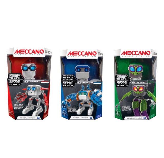 Meccano Micronoid - Roboter-Bausatz programmierbar - Achtung: Keine Auswahl der Variante