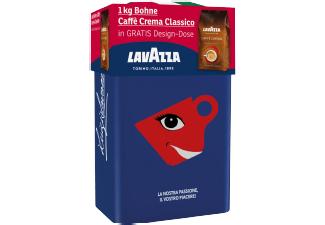 LAVAZZA Caffe Crema Classico Kaffeebohnen inkl. Design-Dose (Media Markt Adventskalender)