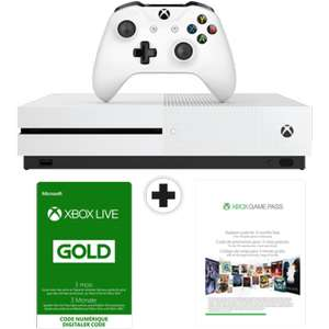 [Schweiz - Mediamarkt] Microsoft Xbox One S 500 GB + 3 Monate Xbox Live Gold & Game Pass
