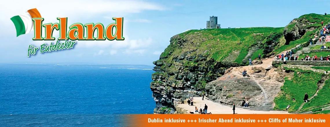 7 Tägige Irland Rundreise ab 399€ Pro Person