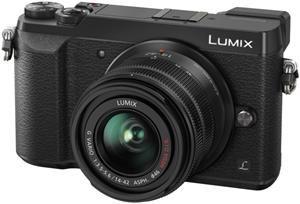 Panasonic Lumix DMC-GX80 + G Vario 14-42mm / F 3.5 - 5.6 schwarz für 519€ + 50€ Cashback - spiegellose Systemkamera MFT