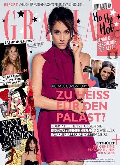 GRAZIA im Jahresabo (52 Ausgaben) für 156€ mit 150€ Amazon-Gutschein oder 140€ Verrechnungsscheck