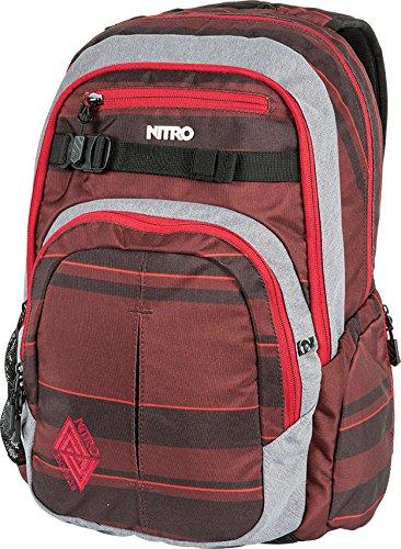 """[Otto] Nitro Rucksack Chase 35 L """"Red Stripes"""""""
