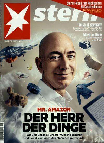 [Hobby + Freizeit ] Stern Magazin 1 Jahr (52 Ausgaben) für 239,40€ mit 215€ BestChoice-Gutschein, 190€ Verrechnungsscheck oder 240€ Otto-/Zalando-Gutschein