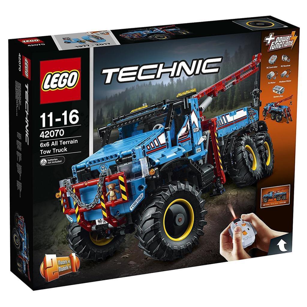 Lego Technik Abschleppwagen 42070 zum Bestpreis