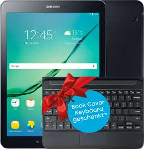 Samsung Galaxy Tab S2 9.7 LTE mit MD Vodafone Smart Surf (2GB) + Keyboard Cover EJ-FT810