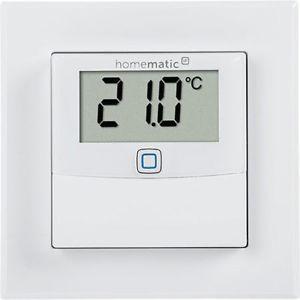 HomeMatic IP Temperatur- und Luftfeuchtigkeitssensor mit Display, innen