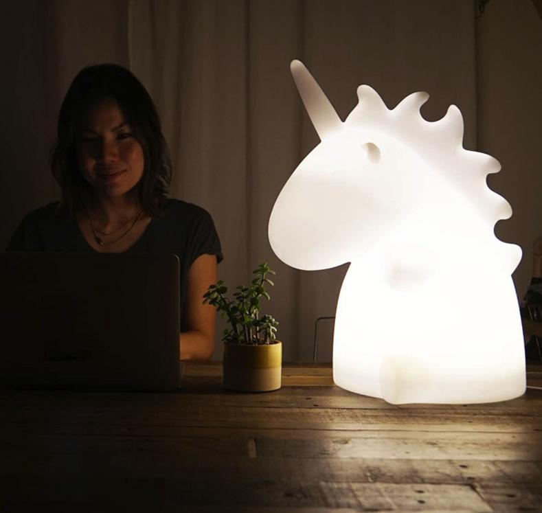 Einhorn-Leuchte (H: 50cm) für 79,96€ statt 99,95€ im Radbag 20%-Einhorn-Sale
