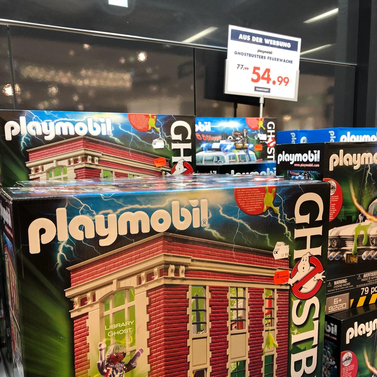 LOKAL Hamburg und online : Playmobil Ghostbusters Feuerwehrwache