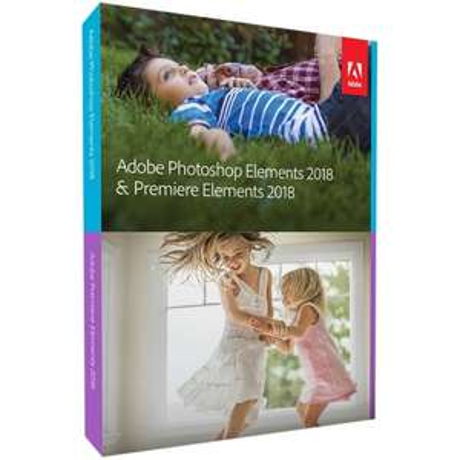 Adobe Photoshop Elements & Premiere Elements 2018 Mac & Windows