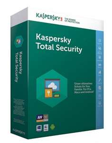 Kaspersky Total Security 5 Geräte 1Jahr [PAYDIREKT2017]