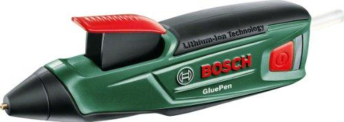 Bosch GluePen - Akku Heißklebepistole + 10 Klebesticks gratis [Amazon.de]