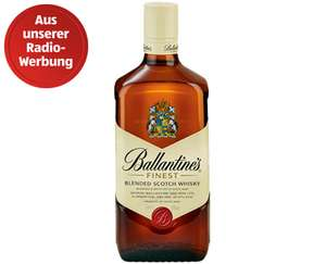 Ballantine`s Finest Blended Scotch Whiskey bei Aldi Süd für 9,99 Euro (0,7 l) ab 15.12.