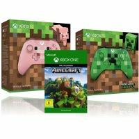 Xbox Wireless Controller - Minecraft Pink Limited Edition + Gratis Minecraft Download Code