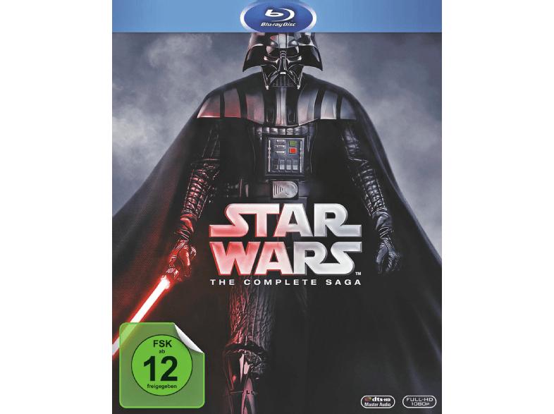 Star Wars Saga (Episode 1-6) auf Bluray für 49€ inkl. Versand [mediamarkt.de]