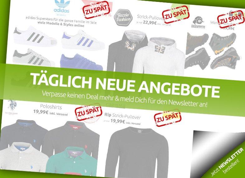 2000 neue Artikel ab 99 Ct bei Outlet46.de