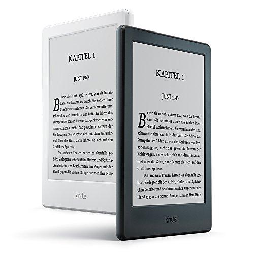 Kindle eReader, 15,2 cm (6 Zoll) Touchscreen ohne Spiegeleffekte (Rabatt auch bei Media Markt!)