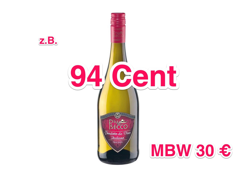 [LIDL online] 15% + kostenloser Versand auf Champagner, Sekt & Secco und Schaumweine