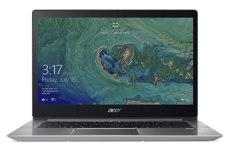"Acer Swift 3: 14"" Full HD IPS, Intel Core i5-8250U, 8GB RAM, 256GB SSD, Wlan ac, bel. Tastatur, Fingerprint-Reader, Windows 10 für 629€ (Amazon)"