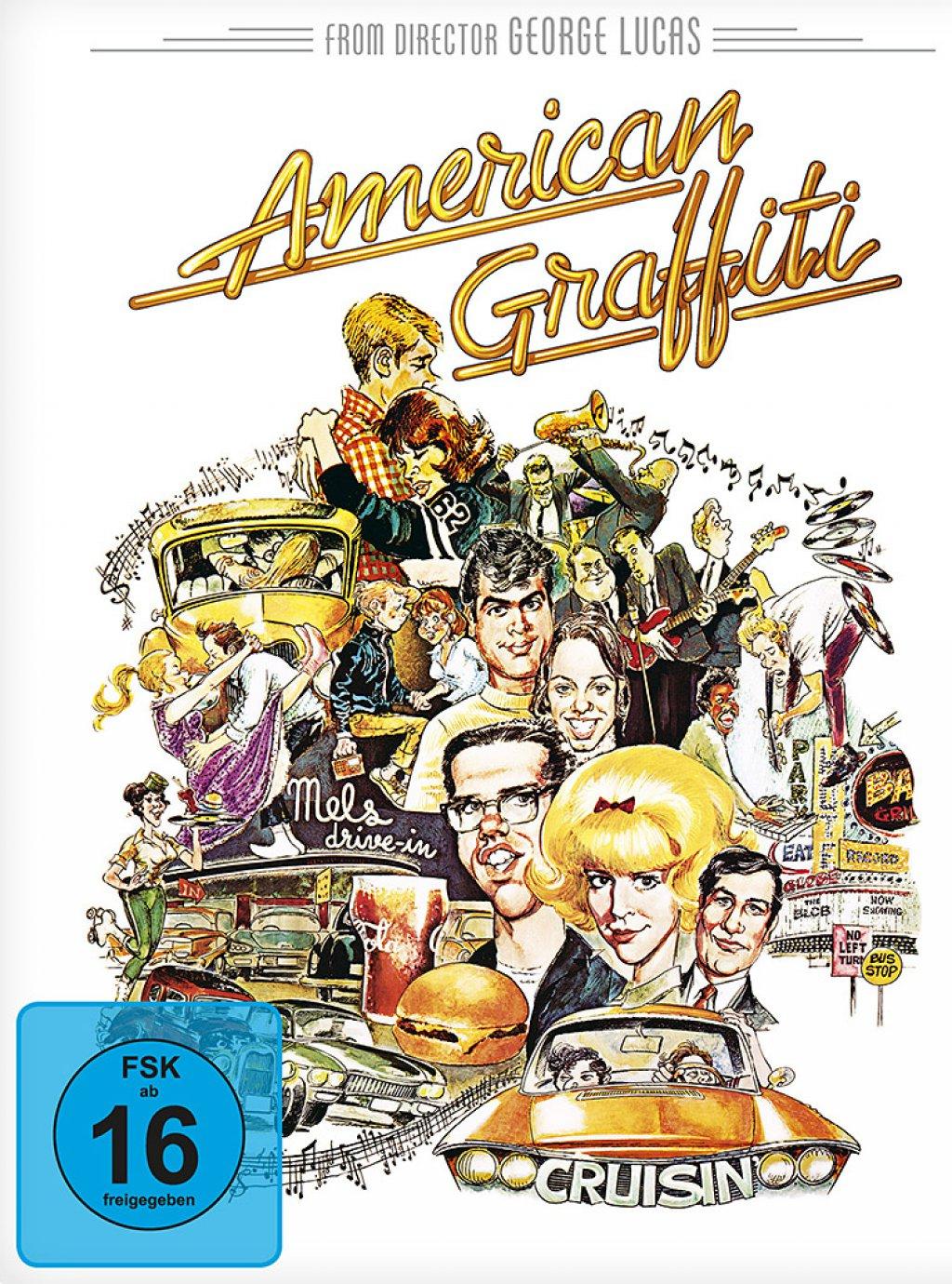 [Media-Dealer] American Graffiti - Limited Steelbook Edition (Blu-ray) für 7,99€ inc. Versand