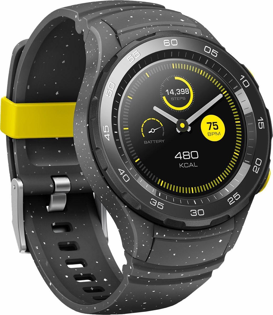 [OTTO/Amazon] Huawei Watch 2 Bluetooth Smartwatch (3,05 cm/1,2 Zoll, Android Wear) in grau für 169,99 statt 259,99 €