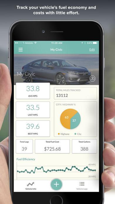 Kostenlose Iphone App - Fuelly - Verbrauch/Wartung/Füllstände zu überwachen! [normal 5,99€]