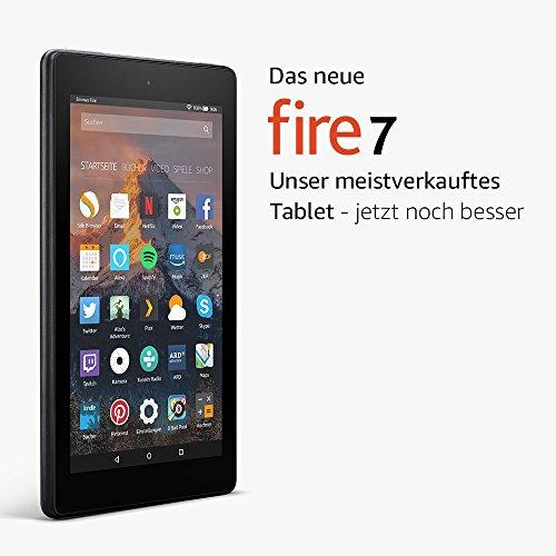 Fire 7 Tablet mit Alexa - 17,7 cm (7 Zoll) Display - 8 GB