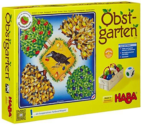 Haba Obstgarten - der Spielklassiker für Kinder ab 3 Jahren