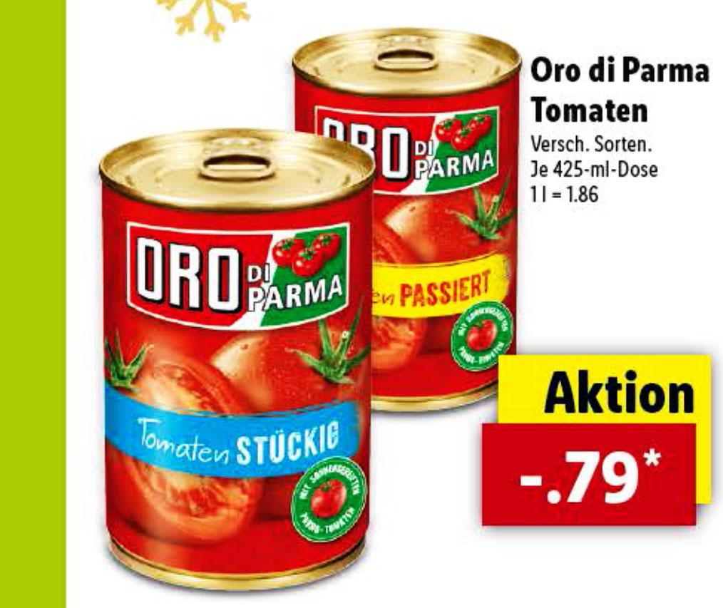 Oro Di Parma für 0,79€ (Lidl)
