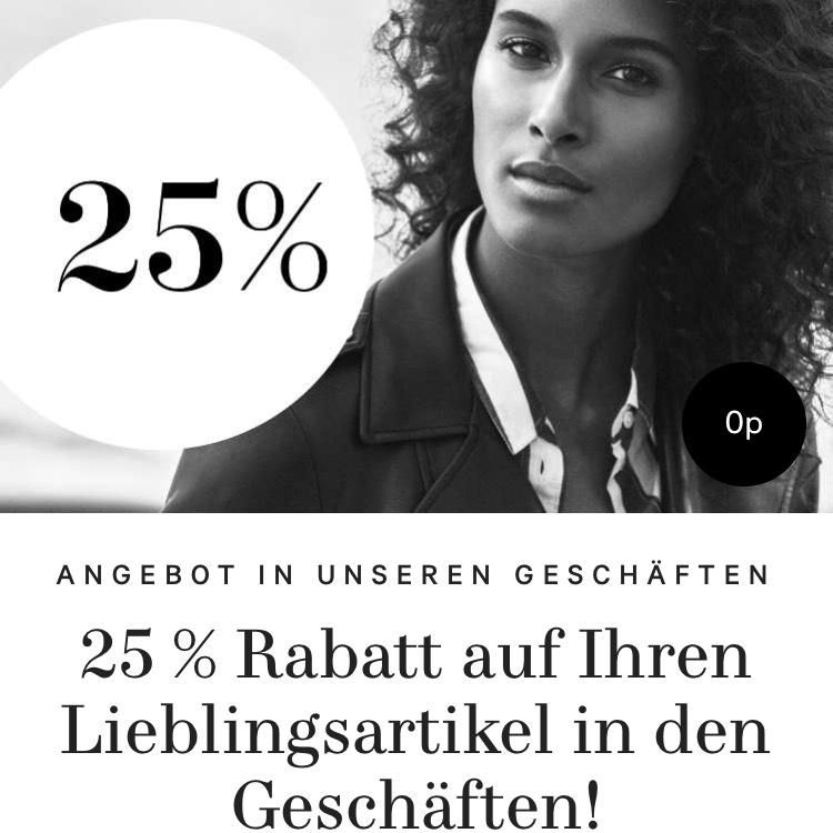 H&M Clubmitglieder -25% in Geschäften