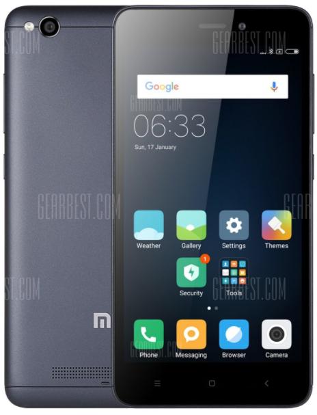 "Xiaomi Redmi 4A mit Band 20 (LTE) - Global (5"", 2GB RAM, 16GB ROM, Snapdragon 425) | Gearbest"