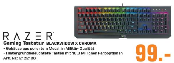 [Saturn Braunschweig] Razer Blackwidow X Chroma Gaming Tastatur