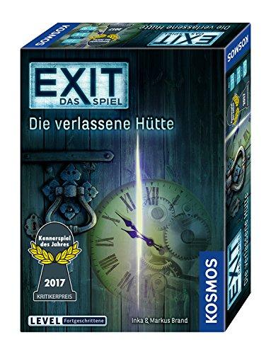 EXIT - Kennerspiel des Jahres 2017 [Amazon Prime]