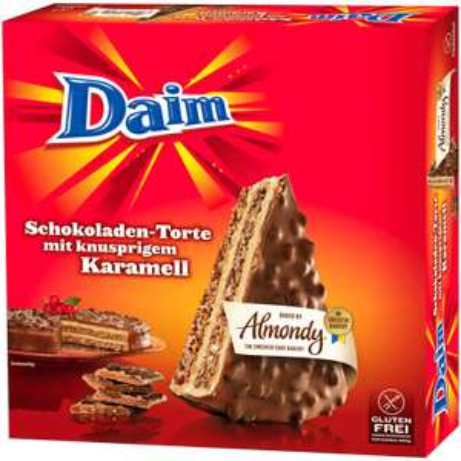 [LIDL] Almondy Mandeltorte mit Daim und Toblerone + 50g