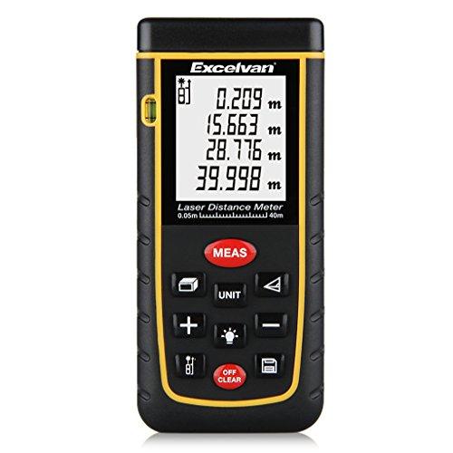 [Amazon] Excelvan 40m Laser-Entfernungsmesser