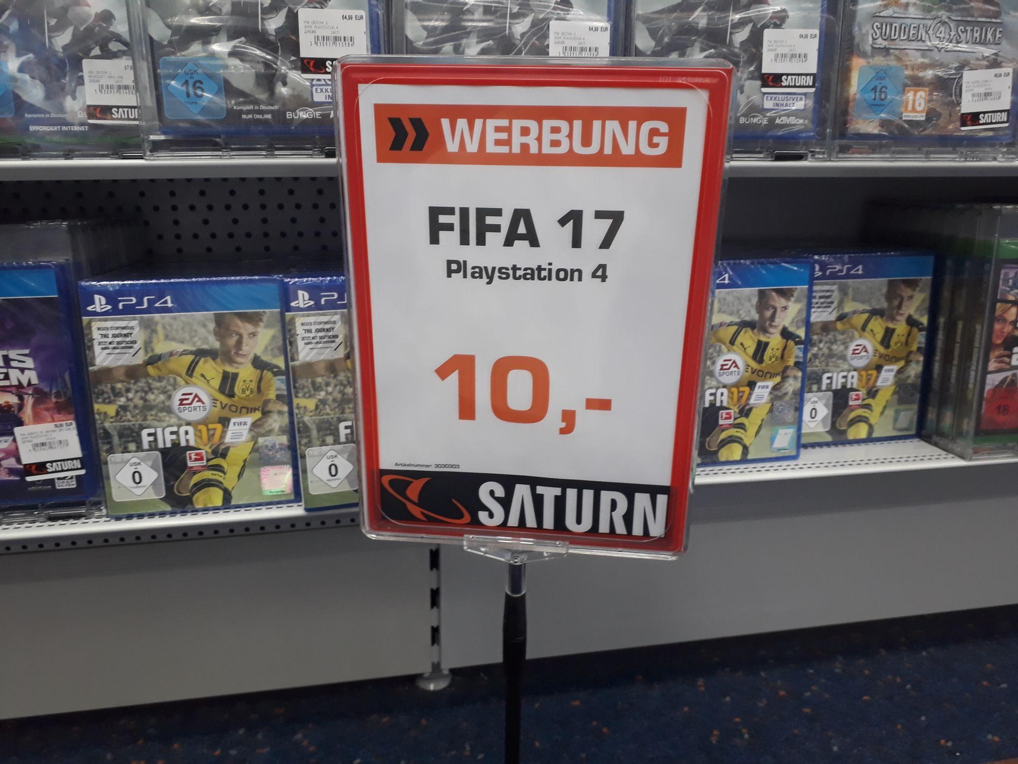 FIFA 17 PS 4 im SATURN  Neuss