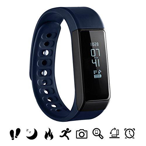 Bluetooth Fitness Tracker, OMorc Sport Armband I5 Plus SmartWatch