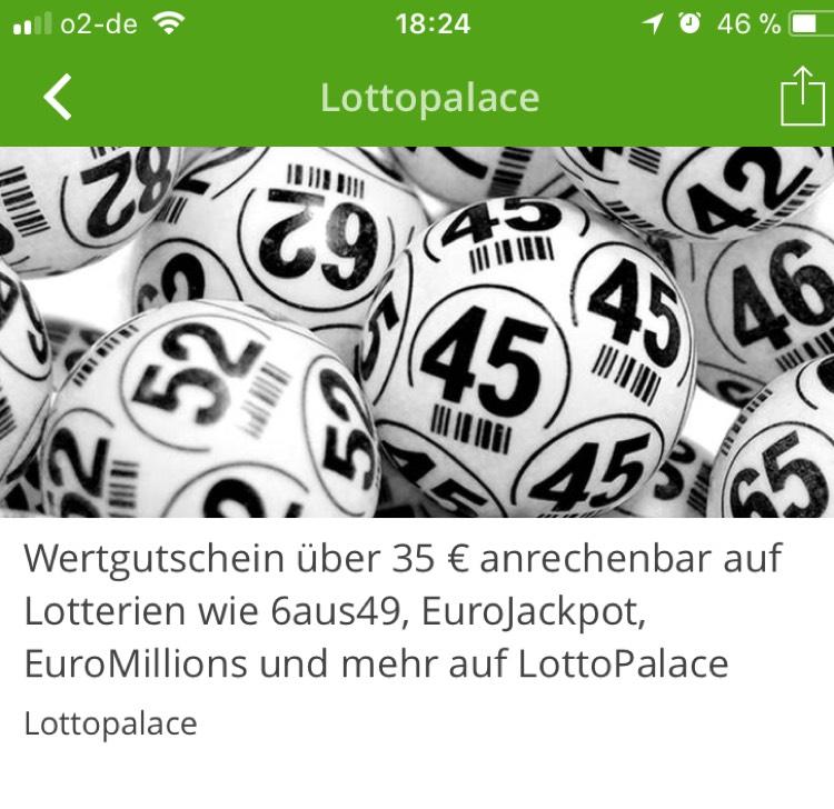[Groupon] 35€ LottoPlace Gutschein für 6,90€
