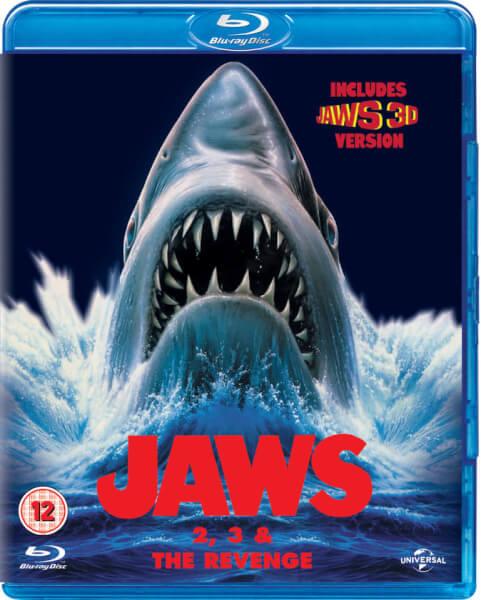 Der weisse Hai 1,2,3 [Blu-ray] für 13,38€ [zavvi]