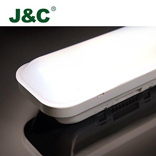 [Amazon] Feuchtraumleuchte 60cm 18W LED Tube Deckelampe 4000K Wasserdicht IP65 14,99 €