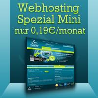 [Netcup Adventskalender] Mini Webhostingpaket mit .de Domain für 0,19 Cent im Monat