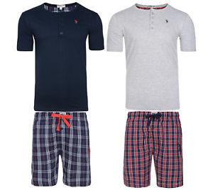 U.S. POLO ASSN. Pyjama Set Herren Schlafanzug kurz@ebayWOW