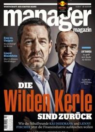 Manager Magazin im Miniabo (3 Ausgaben) für 17,55€ mit 10€ Amazon-Gutschein/ Verrechnungsscheck