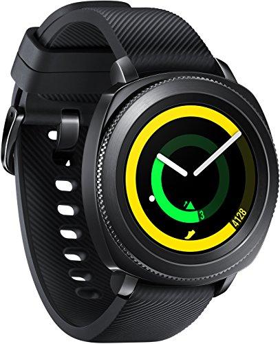 Samsung SM-R600 Gear Sport Fitnesswatch schwarz zum Bestpreis für 299 EUR [Amazon]