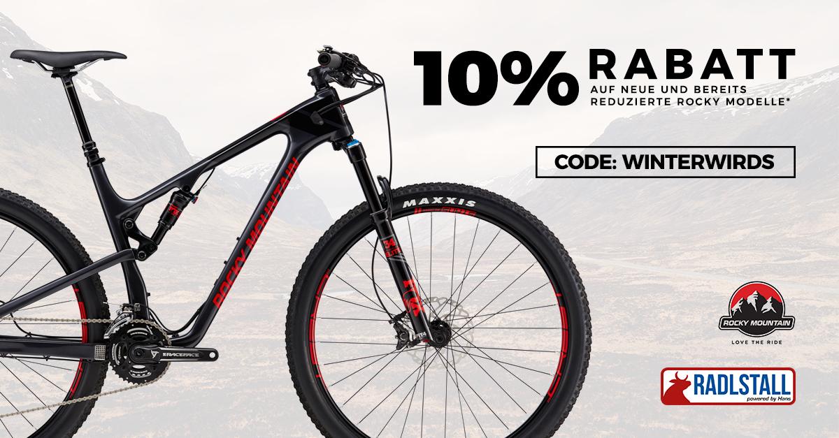 10% Rabatt auf alle Rocky Mountain Fahrräder bei Radlstall auf BikeExchange