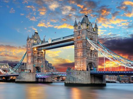 Flüge Frankfurt Hahn - London für 4,99€ one-way und 9,98€ Return mit Ryanair