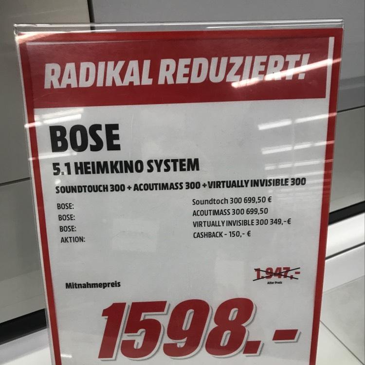 Bose 300 5.1 set (Lokal MM Hannover Vahrenwalder)