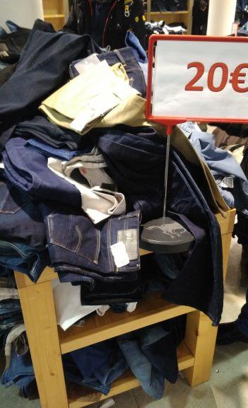 [Lokal] Hamburg G-Star, Mustang, Replay, Pepe Jeans bis zu 70% reduziert